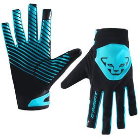 Dynafit Radical Softshell Handschoenen, zwart/turquoise